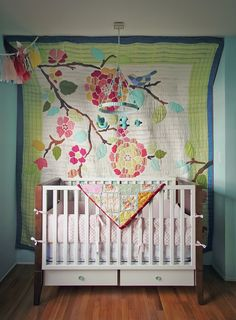How To Hang A Quilt On The Wall yellow baby quilt scalloped edge | baby quilts i've made