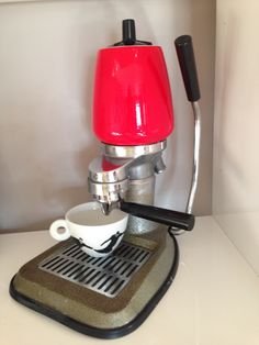 """""""LA PEPPINA"""" vintage coffeemaker, 1960 made in Italy , one of the first Peppinas E.Steiner-Collection Salzburg, Austria"""