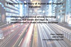 5 reasons to be wary of automated property valuation #5