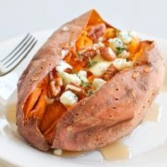 #185838 - Loaded Baked Sweet Potatoes Recipe
