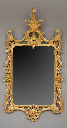 Late George III Carved and Gilded Mirror   From a unique collection of antique and modern pier mirrors and console mirrors at http://www.1stdibs.com/furniture/mirrors/pier-mirrors-console-mirrors/