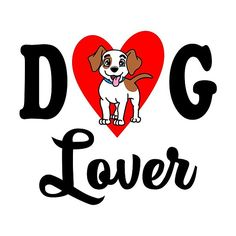 'Dog Lover' by mistergoodiez Framed Prints, Canvas Prints, Art Prints, Art Boards, Dog Lovers, Duvet Covers, Classic T Shirts, Awesome Designs, Dogs