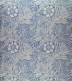 Marigold by William Morris. #wallpaper, #design, #william_morris