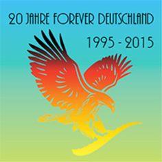 Logo 20 Jahre FOREVER Deutschland