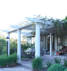 HometoCottage.com DIY Pergola