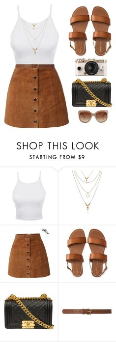 """LE3NO.com"" by monmondefou ❤ liked on Polyvore featuring LE3NO, Aéropostale, Chanel, Dorothy Perkins, STELLA McCARTNEY, Urban Outfitters and le3no"