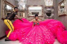 Vohni Couture Giyani Land of Blood Tsonga wedding dress worn by Mathabo playing Khensani character African Attire, African Fashion Dresses, African Dress, African Wear, African Traditional Wedding Dress, Traditional Wedding Attire, Sexy Wedding Dresses, Wedding Gowns, Wedding Cakes