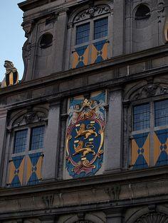 Hoorn Building Detail, Netherlands