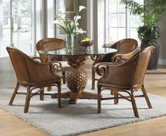 Rattan and Wicker Indoor and Outdoor Furniture | Rattan Dining Sets and Sunroom Furniture
