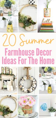 I absolutely love decorating with Farmhouse decor! I usually start with the front door and make my way into the house using a similar theme. Pay special attention to mantles and summer tablescapes! #frontdoordecor #homedecorideas #diydecor #frontdoordecorations #diyfrontdoor #summerdecorideas #farmhousedecor #farmhousedecorideas Mason Jar Succulents, Succulents Diy, Farmhouse Decor, Farmhouse Style, Beach Theme Centerpieces, Summer Mantel, American Flag Wood, Pottery Barn Inspired, Rustic Flowers