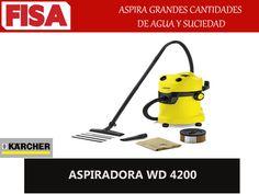 ASPIRADORA WD 4200 Aspira grandes cantidades de agua y suciedad -FERRETERIA INDUSTRIAL -FISA S.A.S Carrera 25 # 17 - 64 Teléfono: 201 05 55 www.fisa.com.co/ Twitter:@FISA_Colombia Facebook: Ferreteria Industrial FISA Colombia