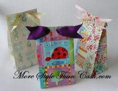 Making paper gift bags