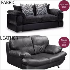 Fabric or leather sofa? You tell us what you think. We have extensive collections in both ranges so go to the website and have a look at them now! Today we've been comparing the Le Mans fabric corner sofa versus the Le Mans leather corner sofa. http://ift.tt/1Vm56p9