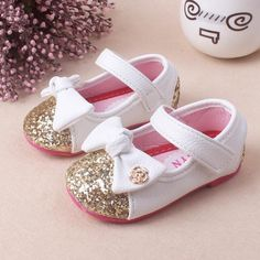 Baby Girl Princess Sparkly Fashion Children Shoes