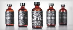 "Bitter Sisters Pinned from ""From up North"" Love all the bottles in this collection!"