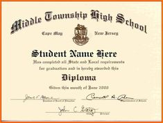 Looking for High School Diploma Template Word for free? Here you go!! Download High School Diploma Template Word now and use it for free.