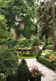 English backyard!