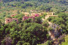 Enagron Ecotourism Village // Pink Villas // Crete // Greece