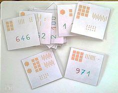 Ateliers Numération de type Montessori