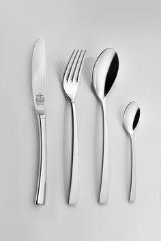 Nicolo besteck- Chicago shiny #Löffel #Gabel #Besteck #Küchenzubehör #Kitchen Accessories #Spoon #Fork #Spoon and fork #Dowry #Aussteuer #nicolo