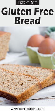 Do you think that baking a gluten-free loaf with your Instant Pot is impossible?     Try this recipe then, and enjoy a warm and soft gluten-free loaf for breakfast!It's quick, easy and within reach of everybody, even if you are not an expert baker.     Skip tedious rising phase and just mix ingredients and flavors to prepare a different healthy breakfast every day. Best Pressure Cooker Recipes, Instant Pot Pressure Cooker, Pressure Cooking, International Recipes, Gluten Free, Bread, Baking, Breakfast, Food