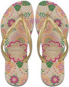 Havaianas - love this pattern!