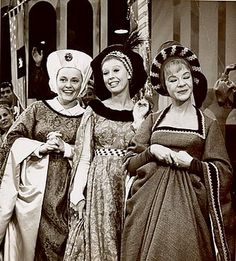 Pat Carroll, Barbara Ruick and Jo Van Fleet as the wicked stepmother and stepsisters in the Television Broadcast of CINDERELLA, Rodgers And Hammerstein's Cinderella, Cinderella Movie, Vintage Tv, Vintage Movies, Portsmouth, Classic Tv, Classic Movies, Movie Facts, Great Tv Shows