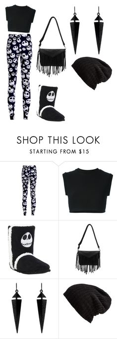 """""""the night mare before Christmas"""" by brianna-andrew-roberts ❤ liked on Polyvore featuring adidas Originals, Oasis and Free People"""