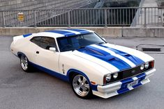 The 1978 Ford Falcon XC Cobra. Australian Muscle Cars, Aussie Muscle Cars, Ford Falcon Australia, Ford Mustang Eleanor, Edsel Ford, Ford Classic Cars, Classic Auto, Ford Torino, Top Cars