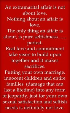 Dealing with a selfish spouse