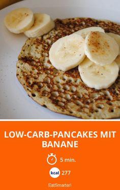 Low-Carb-Pancakes mit Banane - smarter - Kalorien: 277 Kcal - Zeit: 5 Min. | eatsmarter.de