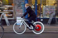 Pesquisadores desenvolvem tecnologia para ajudar ciclistas | #Ciclistas, #CopenhaguenWheel, #Massachussets, #MIT, #MobilidadeUrbana, #Motorizado