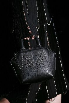 Alexander Wang - Do you want to stylishly transition from summer to autumn, click on this link to read more about the Fall/Winter fashion trends of the woman's most trusted accessory: the B A G => http://www.bagatyou.com/top-10-bag-trends-fallwinter-2016/