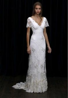 I don't understand my obsession with lace wedding dresses.
