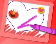 An interactive Sesame Street art tool that allows kids to get creative drawing, painting, coloring, and using their imagination with Elmo and Cookie Monster! Art Activities For Kids, Preschool Games, Elmo And Cookie Monster, Sesame Street Muppets, Sesame Street Birthday, Big Bird, Elementary Art, Coloring Pages For Kids, Online Art