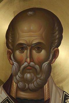 Byzantine Icons, Byzantine Art, Saint Nicholas, Religious Icons, Art Icon, Traditional Paintings, Patron Saints, Orthodox Icons, St Michael
