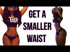 How To Get A Small Waist | 4 Workouts That Gives You A TINY Waist! - YouTube