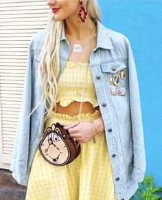 Belle Disneybound | Disney Outfit Ideas | Disney Shirts | Disney Style | Minnie Style | Disneyland Outfits | Minnie Ears