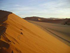 Namibia - Von einem Tag in den Dünen und von unwirklicher Landschaft