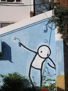 """Stik"" - photo by gagibbens, via Flickr;  in Dulwich, England"