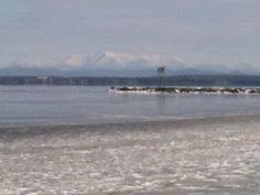 From Plattsburgh Bay across Lake Champlain...the Green Mts. of Vermont!