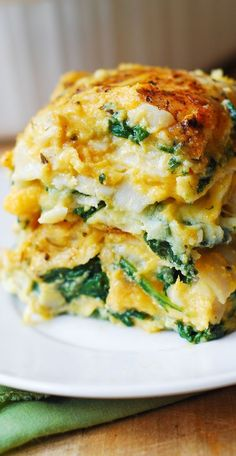 Butternut Squash and Spinach Three Cheese Lasagna combines amazing flavors to…
