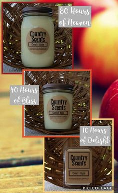 Country Scents Candles Has A High Burn Time And The Scent Throw Is Awesome