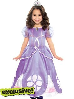 Toddler Girls Sofia the First Costume  sc 1 st  Pinterest & Sofia the First Princess Inspired Dress Gown Adult by Bbeauty79 ...