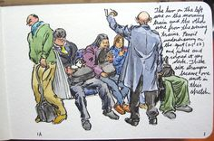 Russell Stutler's Sketchbook Part 4, Page 3