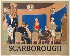 Image detail for -Reginald Higgins Scarborough poster LNER vintage railway poster