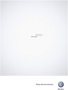 Volkswagen's Clever Campaign To End Texting And Driving - PSFK (Ogilvy & Mather, Cape Town, South Africa)