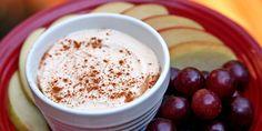 Yum! Greek yogurt, peanut butter, and cinnamon