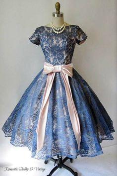 ~1950's Lace Dress~