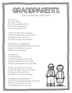 Teacher Idea Factory: THANK GOODNESS FOR GRANDPARENTS